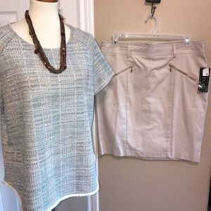 New NYCC  skirt & W5 Anthropologie top 14 / XL